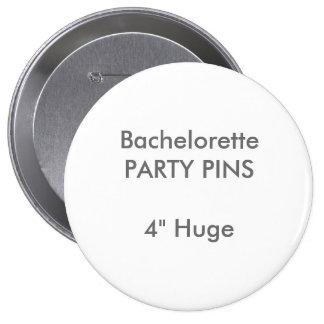 """Coutume 4"""" Pin rond énorme de partie de Badges"""
