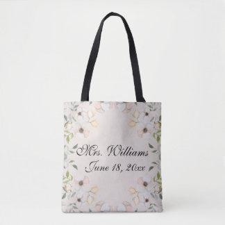 Coutume assez florale de jeune mariée sac