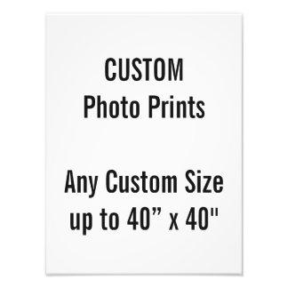 Coutume copie de photo de 30 x de 40 cm (ou toute