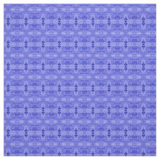 Coutume de bleu de tissu de polyester