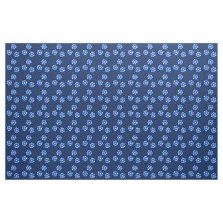 Coutume de bleu marine de tissu de coton