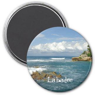 Coutume de paysage marin de Labadee Aimant
