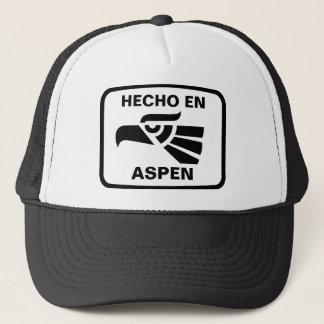 Coutume de personalizado d'en Aspen de Hecho Casquette