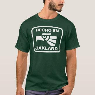 Coutume de personalizado d'en Oakland de Hecho T-shirt