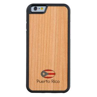 Coutume de Porto Rico Coque Pare-chocs En Cerisier iPhone 6