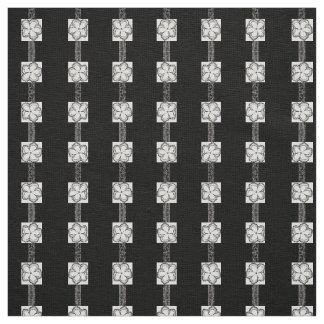 Coutume de toile de blanc de noir de tissu