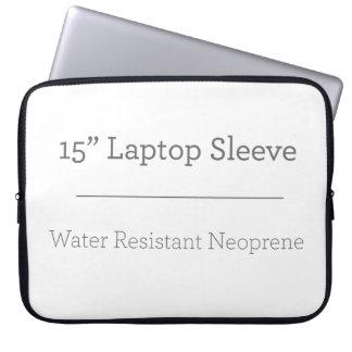 Coutume douille d'ordinateur portable de 15 pouces housse ordinateur portable