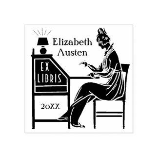Coutume ex de Madame bureau de Deco d'ex-libris de