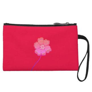 Coutume florale de rose de sac d'embrayage