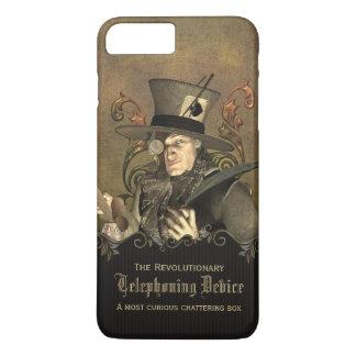 Coutume folle drôle de chapelier de Steampunk Coque iPhone 7 Plus