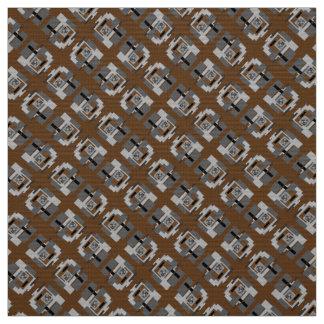 Coutume grise bronzage de noir de tissu de
