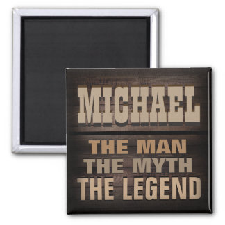 Coutume, l'homme, le mythe, la légende magnet carré