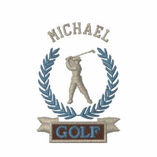 Coutume personnalisée de logo de bannière de golf polos