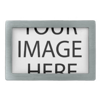 Coutume personnalisée votre propres photo et texte boucle de ceinture rectangulaire