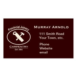 Coutume pour Murray - ivoire de matériel Carte De Visite Standard