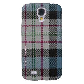 Coutume traditionnelle de plaid de tartan de Fergu Coque Galaxy S4