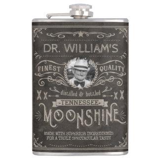 Coutume vintage Brown de médecine de montagnard Flasques
