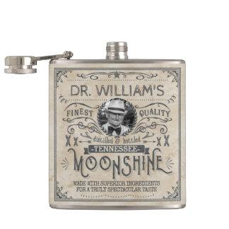 Coutume vintage drôle de médecine de montagnard flasques