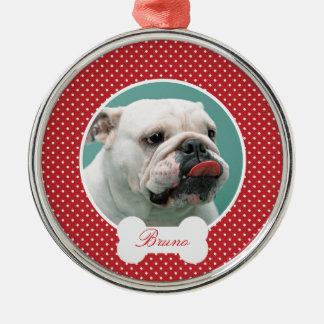 Coutume vos chiens photo et ornement de Noël de