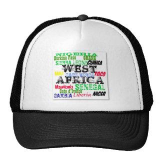 Coutume W.Africa Apparell d'Africankoko Casquettes De Camionneur