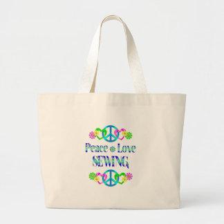 Couture d amour de paix sac