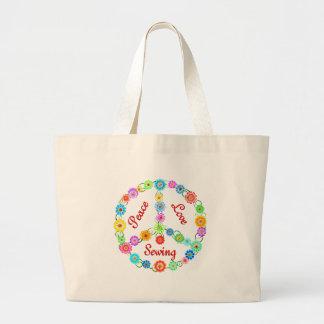 Couture d'amour de paix sac