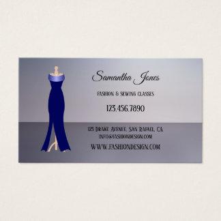 Couture de mode ou carte de visite de boutique