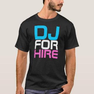 Couture DJ de coup sec et dur POUR le T-shirt de