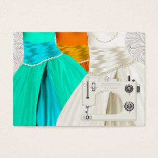 Couture/mode/ouvrière couturière cartes de visite