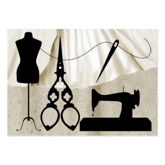 Couture mode ouvrière couturière - SRF Cartes De Visite Professionnelles
