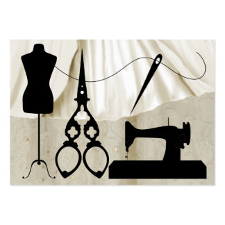 Couture/mode/ouvrière couturière - SRF Carte De Visite Grand Format
