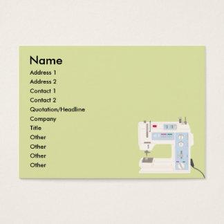 Couture - potelée cartes de visite