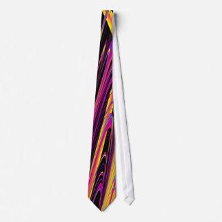 Couture psychédélique de hippie de drapeau anormal cravate