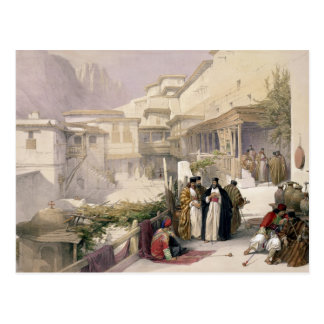 Couvent de St Catherine, mont Sinaï, le 17 février Carte Postale