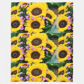 couverture à la mode de fleur du soleil des femmes