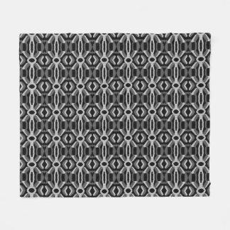 """"""" Couverture abstraite """"noire et blanche d'ouatine"""