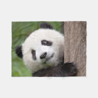 Couverture aimable d'ouatine d'ours panda