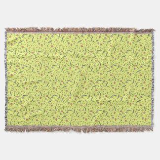 Couverture Animaux microscopiques en jaune