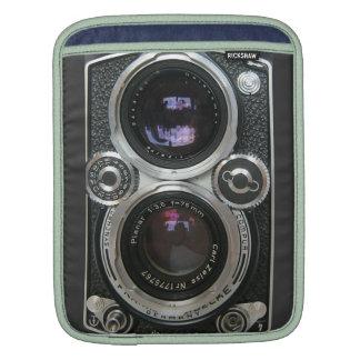 Couverture antique vintage de caisse d'appareil-ph