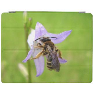 Couverture aux pieds velue d'iPad d'abeille de Protection iPad