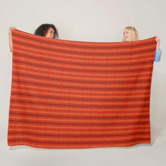 """Couverture aztèque orange rustique 60"""" de motif x"""