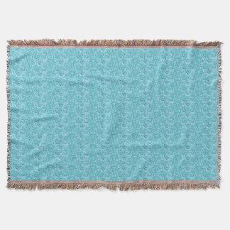 Couverture Bleu Plaisir-Doux vintage élégant