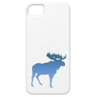 Couverture bleue d Iphone d orignaux Étui iPhone 5