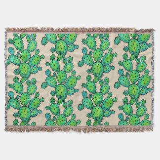 Couverture Cactus épineux d'aquarelle magnifique