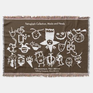 Couverture Collection, masques et têtes de pétroglyphe