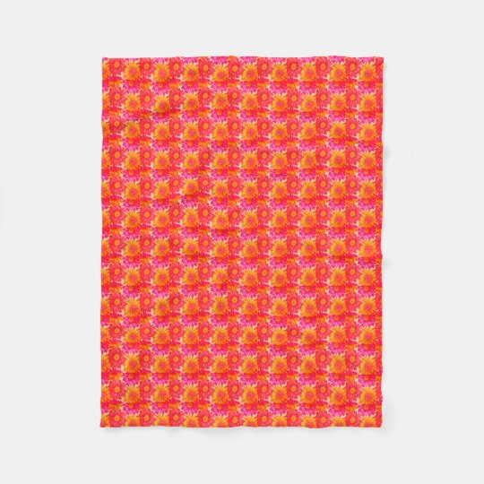 Couverture colorée d'ouatine de tournesol (petite)