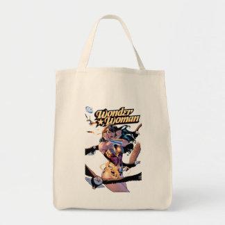 Couverture comique #1 de femme de merveille sac en toile