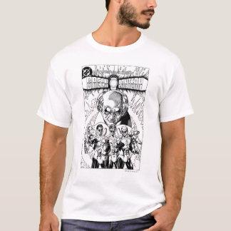 Couverture comique de trois lanternes vertes, t-shirt