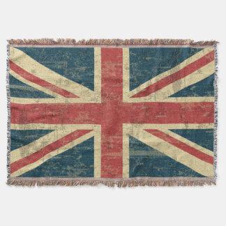 Couverture Cru d'Union Jack affligé