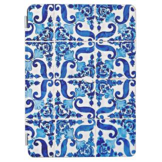 Couverture d'air d'iPad d'Azulejo de Portugais Protection iPad Air